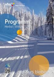 deckblatt programmheft II 2020 ©Volkshochschule Saale-Orla-Kreis
