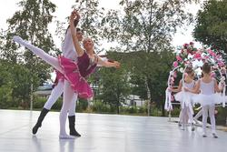 Ballett Goettengruen Juli2020 ©Pressestelle Landratsamt