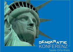 Demokratiekonferenz im Saale-Orla-Kreis - Motiv Freiheitsstatue