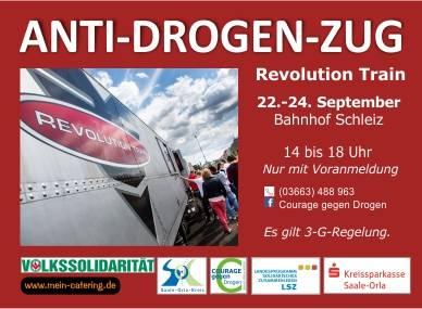 Revolution Train vom 22. bis 24. September in Schleiz