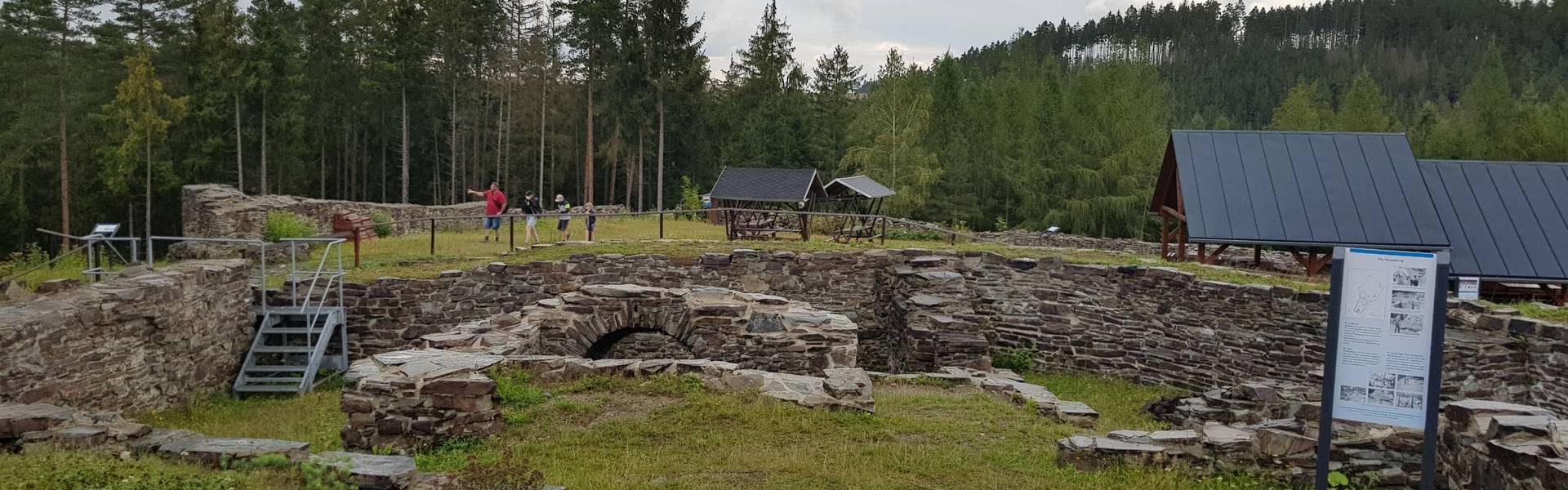 Die Wysburg - ein lohnendes Ausflugsziel für die ganze Familie ©Landratsamt Saale-Orla-Kreis, Pressestelle