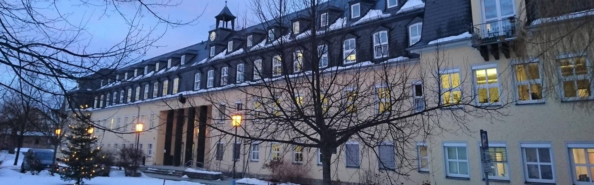 Gebäude des Landratsamtes in Schleiz ©Landratsamt Saale-Orla-Kreis, Pressestelle