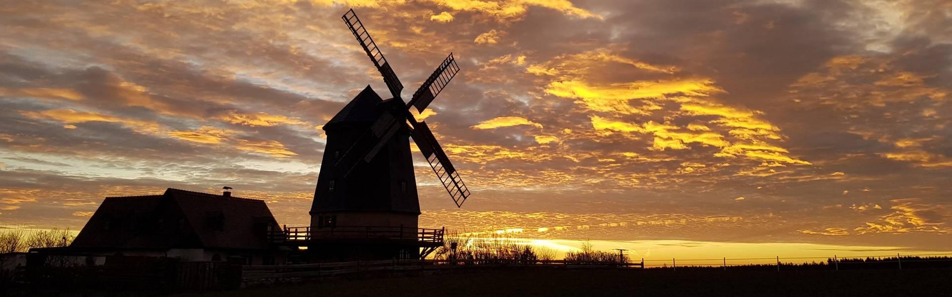 Holländer-Windmühle in Linda ©Pressestelle Landratsamt