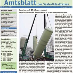 Amtsblatt Juli 2020 ©Landratsamt Saale-Orla-Kreis