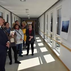 Ulrike Wetzlar, Fotografin aus Dreba im Saale-Orla-Kreis, bei Ausstellung im Landratsamt