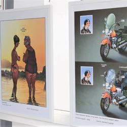 """Impressionen aus der Ausstellung """"Das Alter in der Karikatur"""""""