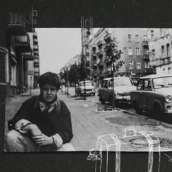 Filmszene, schwarz-weiß Foto