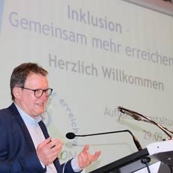 """Impressionen von der Auftaktveranstaltung """"Inklusion - gemeinsam mehr erreichen"""" im Saale-Orla-Kreis"""