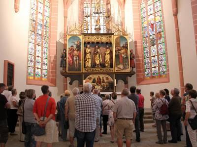 Der Altar steht seit über 500 Jahren am gleichen Platz in der Stadtkirche in Neustadt an der Orla. ©Stadt Neustadt an der Orla