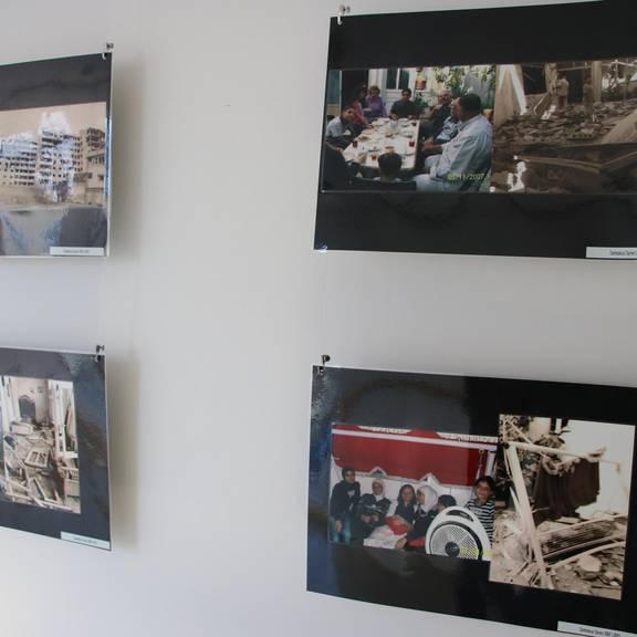 Ausstellung Flucht und Migration der Volkshochschule Saale-Orla-Kreis